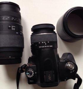 Зеркальный фотоаппарат sony a230