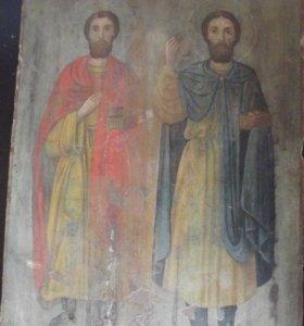 Икона Святые Чудотворцы Косма и Дамиан