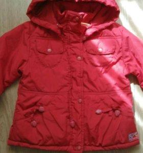 Куртка 98 рост демисезонная