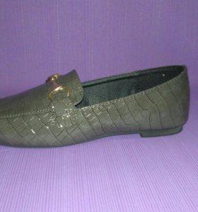 Мокасины туфли новые