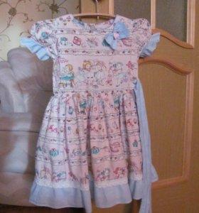 Платье хб для детского сада