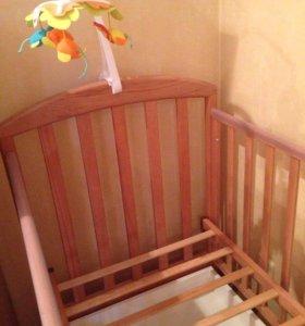 Кроватка-качалка Винни от Papaloni