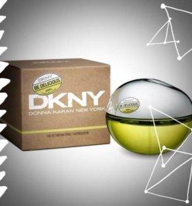 Духи DKNY зеленое яблоко женские новые