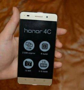 Продам телефон honor c 4