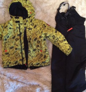 Комплект, куртка и полукомбинезон