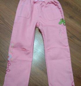 Хлопковые брюки на 4 года