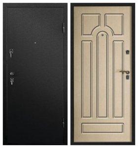 Железные двери с установкой.