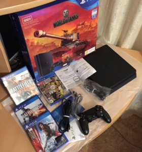 PlayStation 4 slim 500gb гарантия и чек