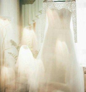 Свадебное платье 40/42