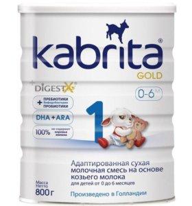 Адаптированная смесь на основе козьего молока