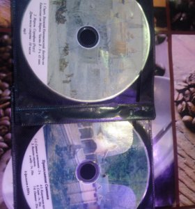 Диски с фильмами и МП3. На православную тематику