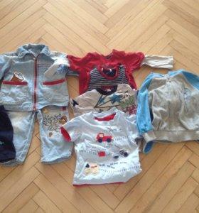 Вещи для мальчика 80-86