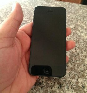 iPhone 5 15 GB black