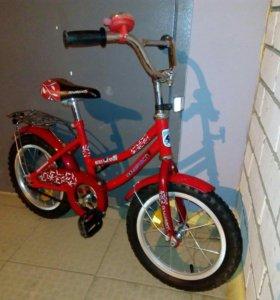 Детский велосипед новатрэк
