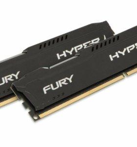 Оперативная память Kingston HyperX Fury