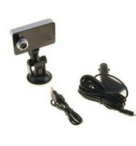 Авто видеорег. K6000P, пласт. корпус, разр. HD 192