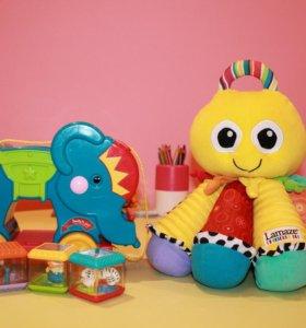 Фирменные игрушки Fisher price и Lamaze