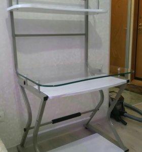 Стол стеклянный крепкий