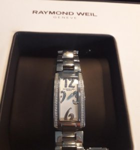 Часы с бриллиантами raymond weil shine