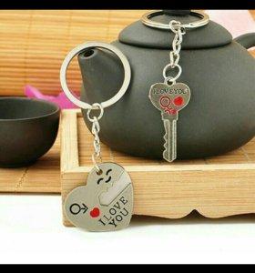 Брелки для любящих сердец