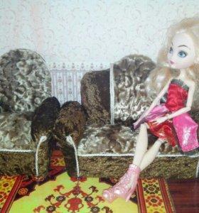 Мягкая мебель для кукол
