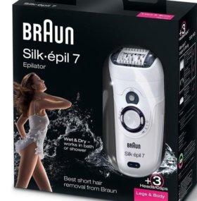 Эпилятор Braun Silk-épil 7 Wet&Dry.