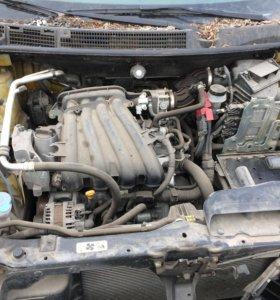 Двигатель Для Ниссан Кашкай j10 HR16 1.6л МТ