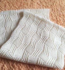 Вязаный снуд-шарф