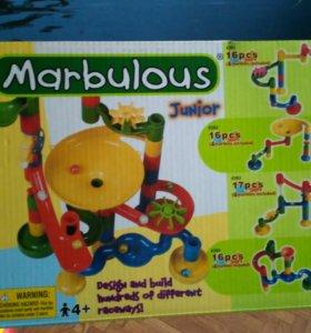 Marbulous лабиринт с шариками на 16 деталей