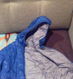 Куртка очень и не холодная зима
