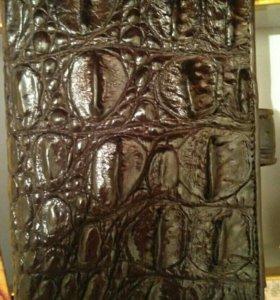Мужское портмоне из натуральной кожи, новое!!!