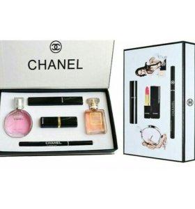Подарочный набор Chanel 5 в 1. Доставка