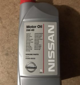 Моторное масло Nissan 5w40 Motor Oil 1л. original.