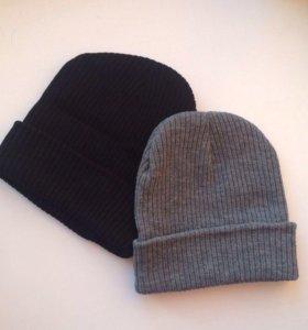 Чёрная шапочка новая