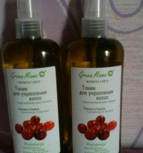 Тоник для укрепления волос Грин мама Green Mama