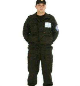 Форма для ЧОП черный спецназ