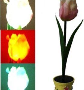 "Фонарь ""Цветок"" тюльпан, хризантема"
