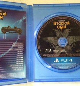 Диск для PS4 (inFamous: Second Son)