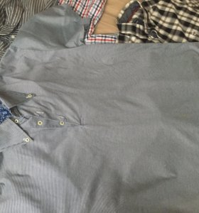 Рубашки мужские XL