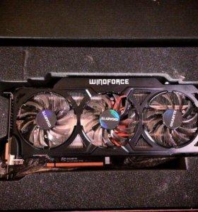 Nvidia Geforce GTX 770 4Gb (неисправная)