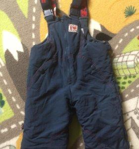 Зимние штаны, рост 80-86