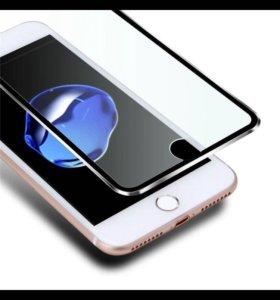 3D стекло на Айфон 7 и 6