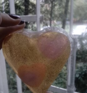 Мыло сердечки