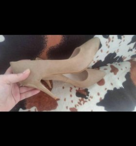 Туфли лодочки nude