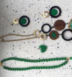 Бижутерия (браслеты, бусы, серьги, броши)