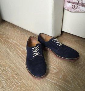 Ботинки мужские замшевые MANGO