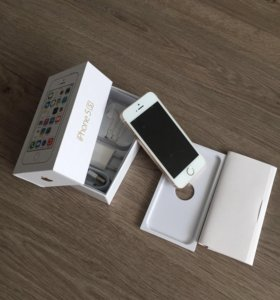 Apple iPhone 5S 16Gb Touch ID. Gold. (Новый)