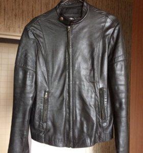Куртка кожаная женская р.46-48