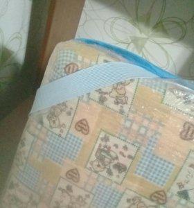 клиёнка в детскую кроватку
