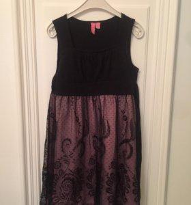 Платье для девочки нарядное, с жакетом